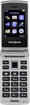 swisstone SC700 Klapp-Handy Silber