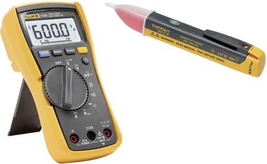 Hand-Multimeter digital Fluke FLK-115/1 ACII Kalibriert nach: Werksstandard (ohne Zertifikat) CAT III 600 V Anzeige (Co
