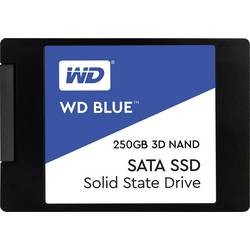 """Interný SSD pevný disk 6,35 cm (2,5 """") WD Blue™ WDS250G2B0A, 250 GB, Bulk, SATA 6 Gb / s"""