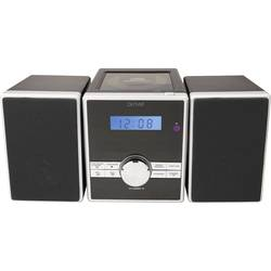 Image of Denver MCA-230MK2 Stereoanlage AUX, CD, UKW, Schwarz, Silber