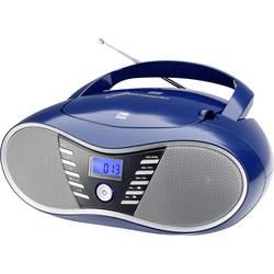 N/A Dual P 60 BT, AUX, Bluetooth, USB, modrá