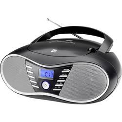FM rádio s CD prehrávačom Dual P 60 BT, AUX, Bluetooth, USB, UKW, čierna