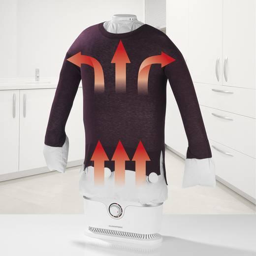 Dampfglätter CleanMaxx Bügler für Hemden & Blusen Weiß 1800 W