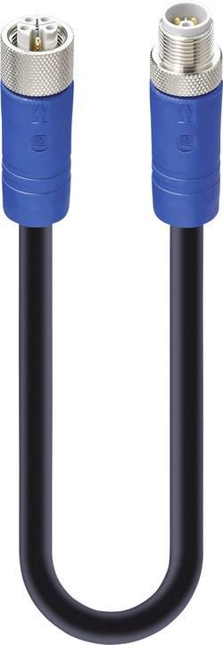 Connectique confectionnée pour capteur/actionneur Lumberg Automation 934853183 M12 Mâle, Femelle 1 m Nbr de pôles: 5 1 p