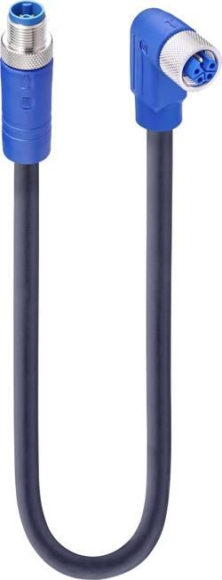 Connectique confectionnée pour capteur/actionneur Lumberg Automation 934853046 M12 Mâle droit, Femelle coudée 2 m Nbr de