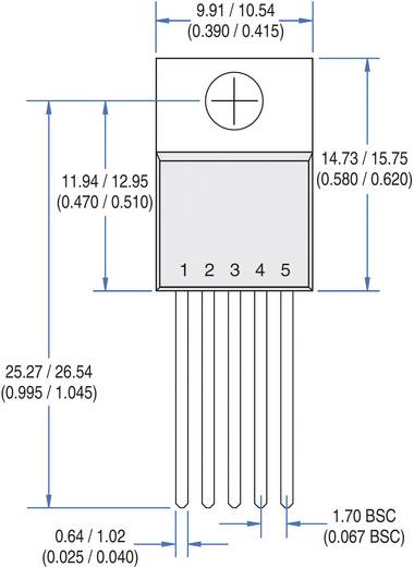 PMIC - Gate-Treiber IXYS IXDI609CI Invertierend Low-Side TO-220-5