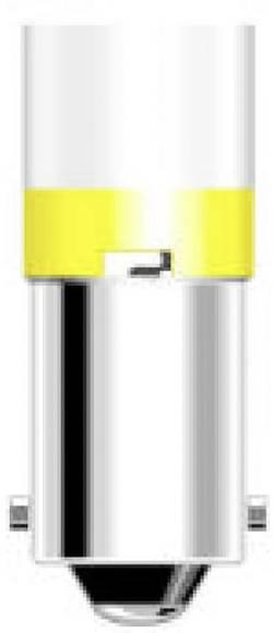 LED žárovka Oshino ODR01BA9R230BR, BA9s, 240 V, 100 mcd, červená