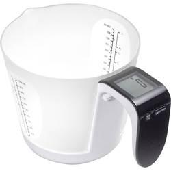 Váha s odmernou nádobou ADE KE 919 Franca, čierna, biela