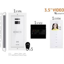 Káblový domové videotelefón Bellcome VKM.P1FR.T3S4.BLW04, biela