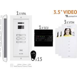 Káblový domové videotelefón Bellcome VKM.P3FR.T3S4.BLW04, biela