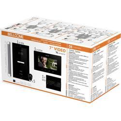Káblový domové videotelefón Bellcome VKM.P1FR.T7S4.BLB04, čierna