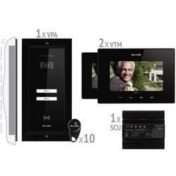 Káblový domové videotelefón Bellcome VKM.P2FR.T7S4.BLB04, čierna