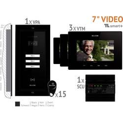 Káblový domové videotelefón Bellcome VKM.P3FR.T7S4.BLB04, čierna