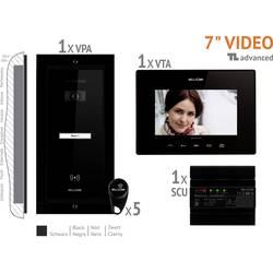 Káblový domové videotelefón Bellcome VKA.P1FR.T7S9.BLB04, čierna