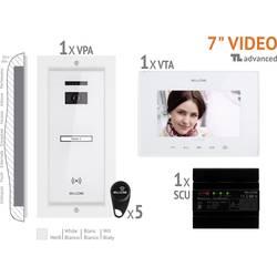 Káblový domové videotelefón Bellcome VKA.P1FR.T7S9.BLW04, biela