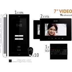 Káblový domové videotelefón Bellcome VKA.P2FR.T7S9.BLB04, čierna