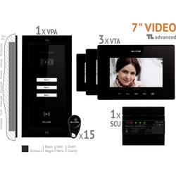 Káblový domové videotelefón Bellcome VKA.P3FR.T7S9.BLB04, čierna