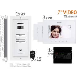 Káblový domové videotelefón Bellcome VKA.P3FR.T7S9.BLW04, biela