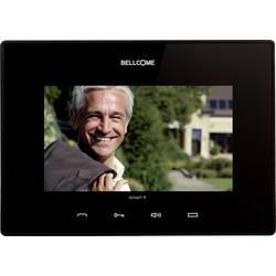 Kabelový domovní video telefon - vnitřní jednotka Bellcome VTM.7S402.BLB04, černá