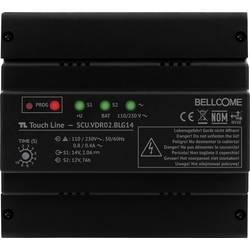 Káblový domové videotelefón - napájanie na DIN lištu Bellcome SCU.VDR02.BLG14, čierna