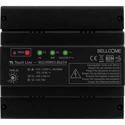 Káblový domové videotelefón - napájanie na DIN lištu Bellcome SCU.VDR02.BLG34, čierna