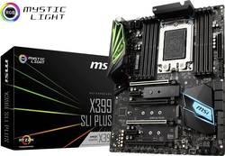 Základní deska MSI X399 SLI PLUS Socket AMD TR4 Tvarový faktor ATX Čipová sada základní desky AMD® X399