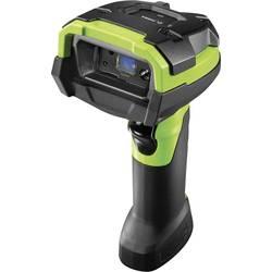 Ručný skener čiarových kódov Zebra DS3678-SR DS3678-SR3U42A0SFW, Imager, Bluetooth, USB, čierna, zelená