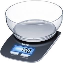 Digitálna, s odmernou misou digitálna kuchynská váha Beurer KS25, čierna