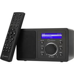 N/A Renkforce RF-IR-MONO1, Bluetooth, AUX, internetové rádio, Wi-Fi, čierna