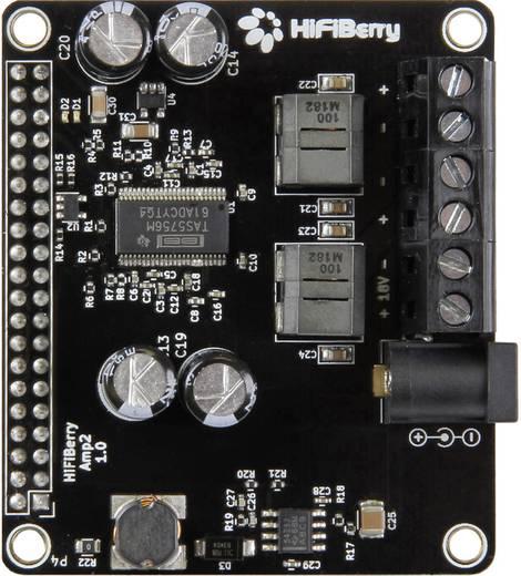 65a900222b2cc2 Raspberry Pi® Erweiterungs-Platine Schwarz Hifiberry AMP2 Raspberry Pi® B+, Raspberry  Pi