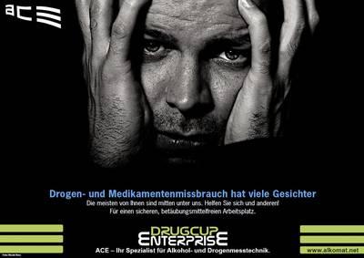 Kit test droga test urine ACE Drug Cup Enterprise 100336 Farmaci testabili=Anfetamine, Cocaina, MDMA, Metamfetamine, Opp