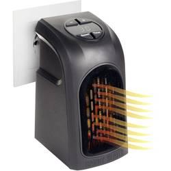 Teplovzdušný zásuvkový ventilátor Livington M13735 M13735, 20 m², 500 W, čierna