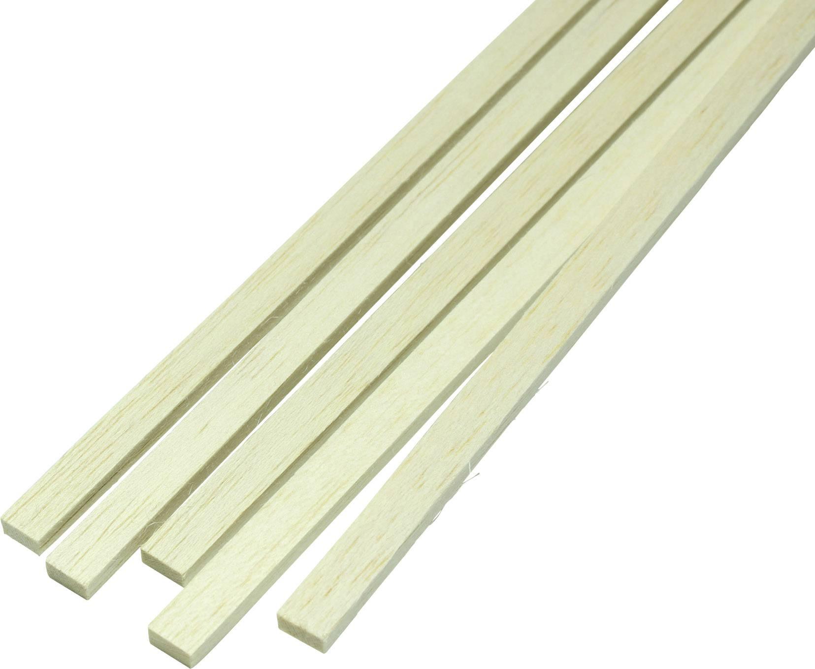 Kiefernleiste 2,0 x 5,0 mm Länge 100 cm