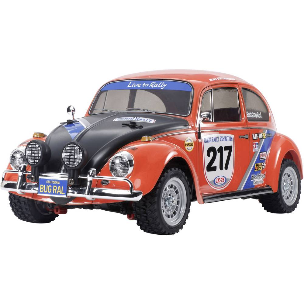 voiture de tourisme lectrique tamiya vw beetle rallye. Black Bedroom Furniture Sets. Home Design Ideas