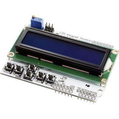 MAKERFACTORY LCD & Keybad Shield für Arduino® - LCD1602 Preisvergleich