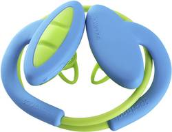 Casque Bluetooth sport intra-auriculaires Boompods Sportpods 2 micro-casque, résistant à la sueur bleu, vert