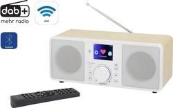 Internetové stolní rádio Renkforce RF-IRDAB-RETRO1, AUX, Bluetooth, internetové rádio, DAB+, Wi-Fi, LAN, dřevo