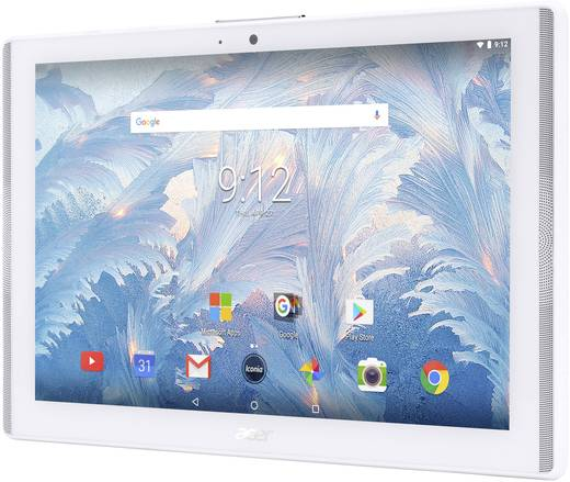 Acer ICONIA ONE 10 B3-A40 WHITE Android-Tablet 25.7 cm (10.1 Zoll) 16 GB Wi-Fi Weiß 1.3 GHz Quad Core Android™ 7.0 Noug