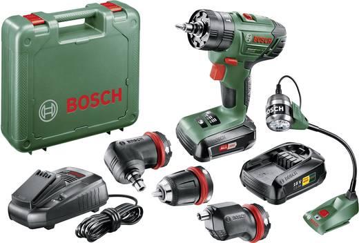Bosch Home and Garden AdvancedImpact 18 Akku-Schlagbohrschrauber 18 V 1.5 Ah Li-Ion inkl. Akku-Lampe, inkl. Koffer, inkl