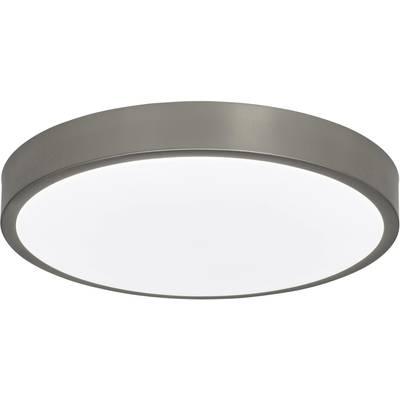 AEG Mikel AEG181085 LED-Bad-Deckenleuchte EEK: LED (A++ - E) 24 W  Warm-Weiß, Neutral-Weiß, Tageslicht-Weiß Nickel (gebü