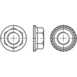 Écrou hexagonal à embase crantée TOOLCRAFT 161458 N/A Acier 8 M8 200 pc(s)