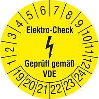 Elektro-Check-Prüfplakette