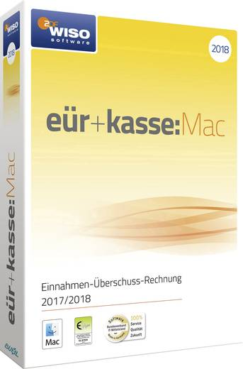 Wiso Eür Kasse Mac 2018 Vollversion 1 Lizenz Mac Finanz Software