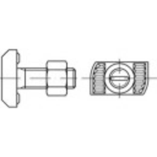 Hammerkopfschrauben M12 50 mm Stahl feuerverzinkt 100 St. 161515
