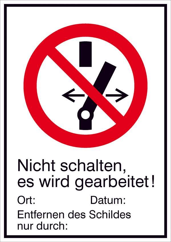 DIN 4844 Zutritt f/ür Unbefugte verboten Aufkleber 5 x 5 cm gem/ä/ß ASR A1.3 10 St/ück