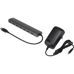 USB 3.0 hub Renkforce 7 portů, 174 mm, hliník