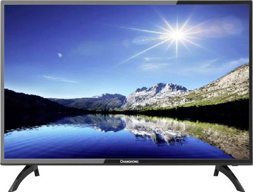 led tv 80 cm 31 5 zoll changhong led32e4500st2 eek a ci dvb c dvb s dvb t2 ebay. Black Bedroom Furniture Sets. Home Design Ideas