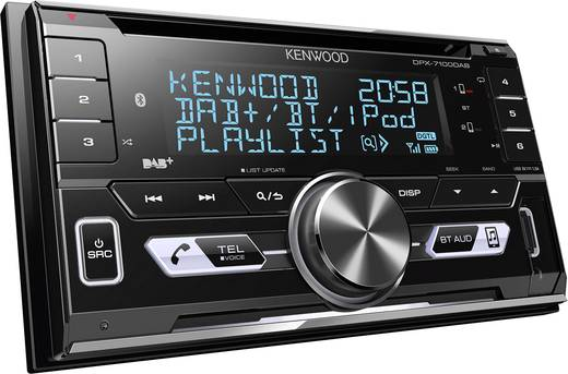 kenwood dpx 7100dab doppel din autoradio bluetooth. Black Bedroom Furniture Sets. Home Design Ideas