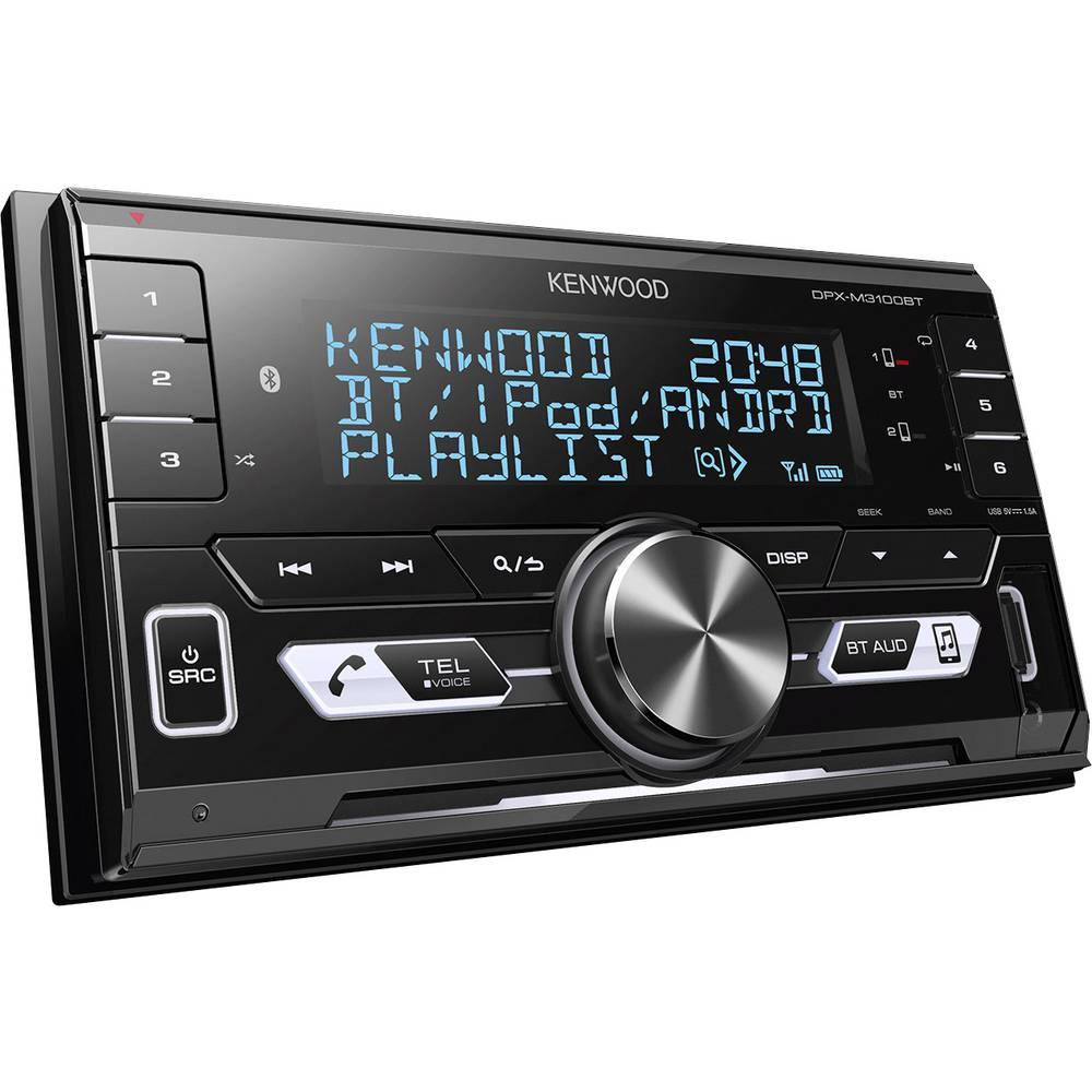 Kenwood DPX-M3100BT Doppel-DIN Autoradio Anschluss für ...