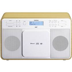 DAB+ stolné rádio Lenco DAR-040, AUX, CD, DAB+, Bluetooth, UKW, USB, dub